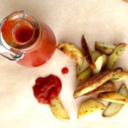 Pressure Cooker Fresh Tomato Ketchup