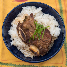 Pressure Cooker Korean Braised Short Ribs