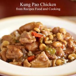 Pressure Cooker Kung Pao Chicken