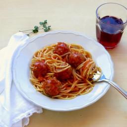 Pressure Cooker Meatballs in Tomato Sauce