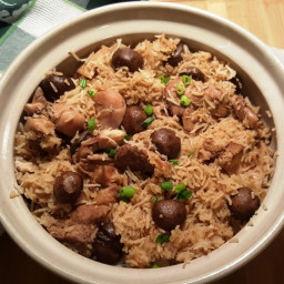 Pressure Cooker Mr. Yoshida's Chicken and Rice