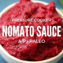 Pressure Cooker Nomato Sauce