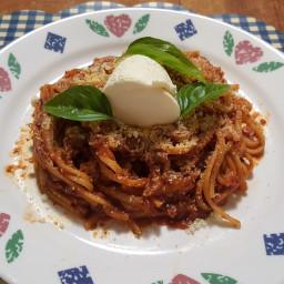 Pressure Cooker Quick Spaghetti Dinner