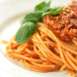 Pressure Cooker Spaghetti Sauce with Ground Beef and Sausage