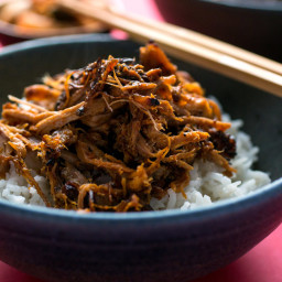Pressure Cooker Spicy Pork Shoulder