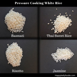 Pressure Cooking White Rice ~ Your General Guide
