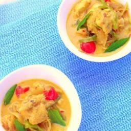 Pressure Cooked Coconut Fish Curry