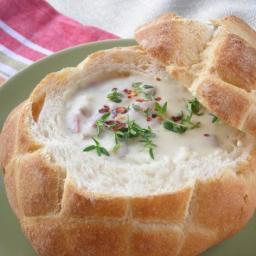 Pressure Cooker Recipe: New England Clam Chowder