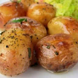 Pressure Cooker Roast Potatoes