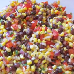 Presto Black Bean and Corn Salsa