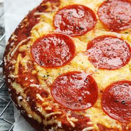Pretzel Crust Pizza