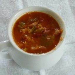 Prize Winning Ham and Lentil Soup