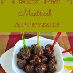 Progressive Dinner: Crock Pot Meatball Appetizer