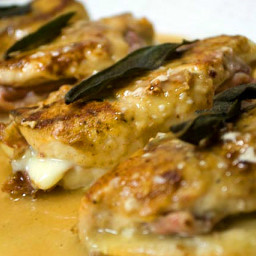 Prosciutto and Fontina Stuffed Chicken Breasts