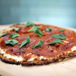 Prosciutto Pizza with Cauliflower Crust