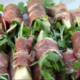 Prosciutto with Pears and Arugula (RR)