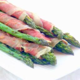 Prosciutto-wrapped Asparagus Canes - pressure cooker recipe