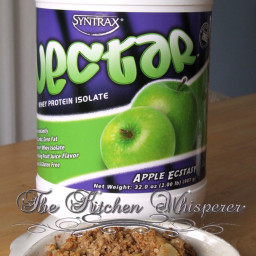 Protein Packed Apple Crisp
