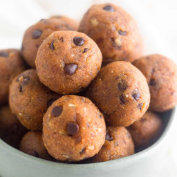 Protein Pumpkin Chocolate Chip Energy Balls