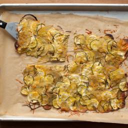 Provencal Summer Squash and Potato Gratin