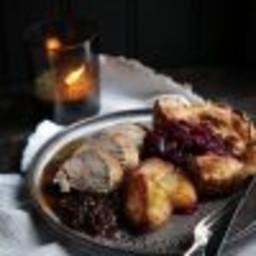 Prune and Pancetta Pork Tenderloin