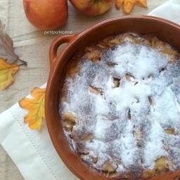 Pudding di mele [agli agrumi e cannella]