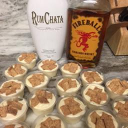 Pudding Shots - Cinnamon Toast