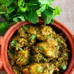 Pudina chicken dry - How to prepare mint chicken curry
