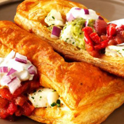 Puff Pastry Fish Tacos