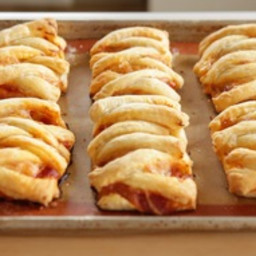 Puff Pastry Pizza Wraps