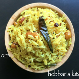 pulihora recipe | tamarind rice recipe