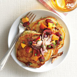 Pulled Pork Griddle Cakes