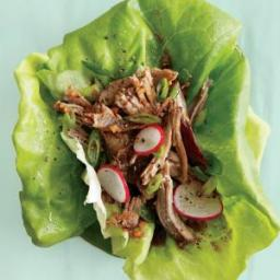 Pulled Pork Lettuce Wraps