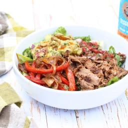 Pulled Pork Taco Salad (Homemade Paleo Chipotle Salad)