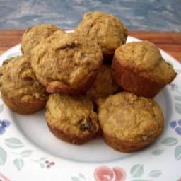 Pumpkin-Bran Muffins