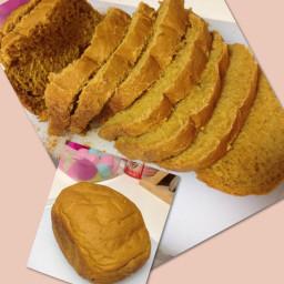 Pumpkin Bread (eggless)
