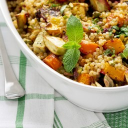 Pumpkin Brown Rice Couscous