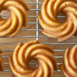 Pumpkin Bundt Cakes (Grain-Free, Paleo)