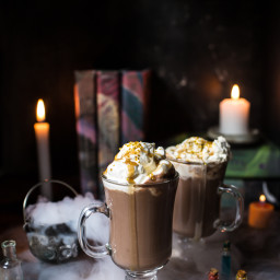 Pumpkin Butterbeer Hot Chocolate