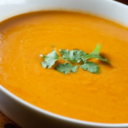Pumpkin Carrot Curry Soup