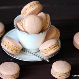 Pumpkin Chai Tea Macarons