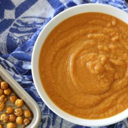 Pumpkin-Chickpea Soup