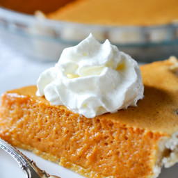 Pumpkin Chiffon Pie Recipe