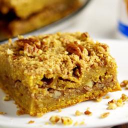 Pumpkin Cinnamon Coffee Cake