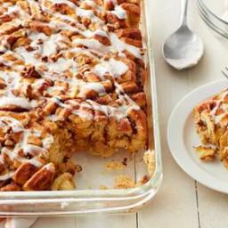 Pumpkin-Cinnamon Roll Bake