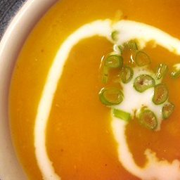 Pumpkin Coconut Soup