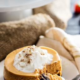 Pumpkin Cookie Cheesecake