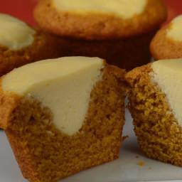 Pumpkin Cream Cheese Muffins Recipe and Video