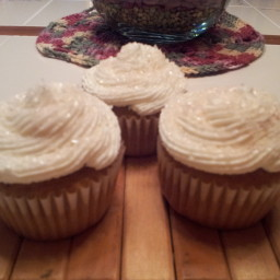 Pumpkin Cupcakes with Pumpkin Spice Icing