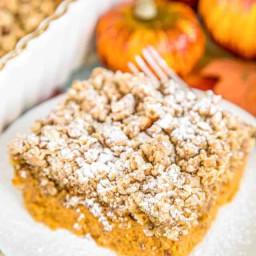 Pumpkin Custard Crunch